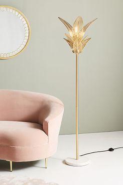 Palm Frond Floor Lamp