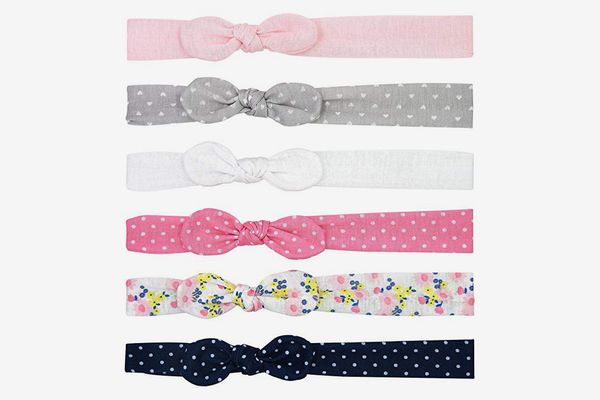 Simple Joys by Carter's Baby Girls' Soft Knot Jersey Head-wraps