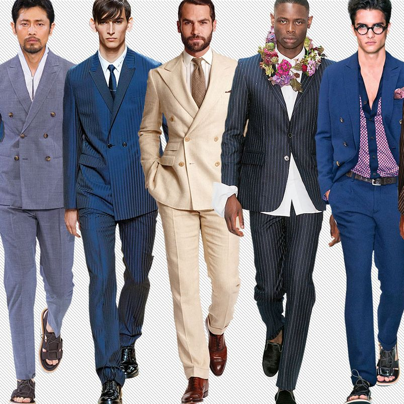 Summer Suit Wedding | 15 Anything But Basic Suits For Summer Weddings