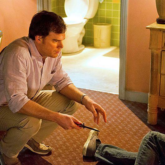 Michael C. Hall as Dexter Morgan in Dexter
