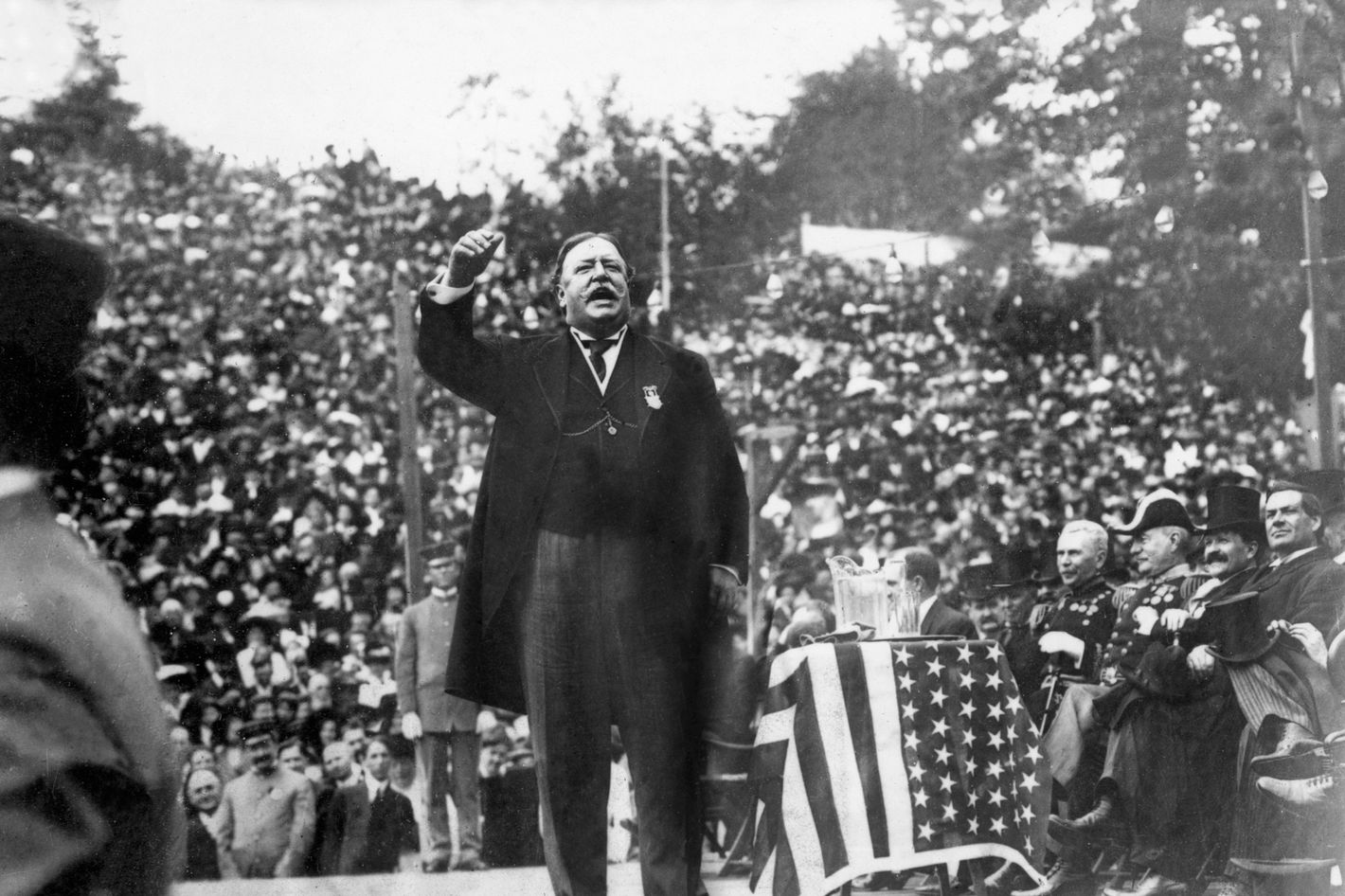 what chris christie could learn from william howard taft