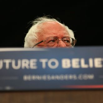 Bernie Sanders Holds Campaign Rally In South Bend, IN