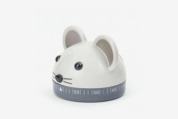 Kikkerland Kitchen Mouse Timer