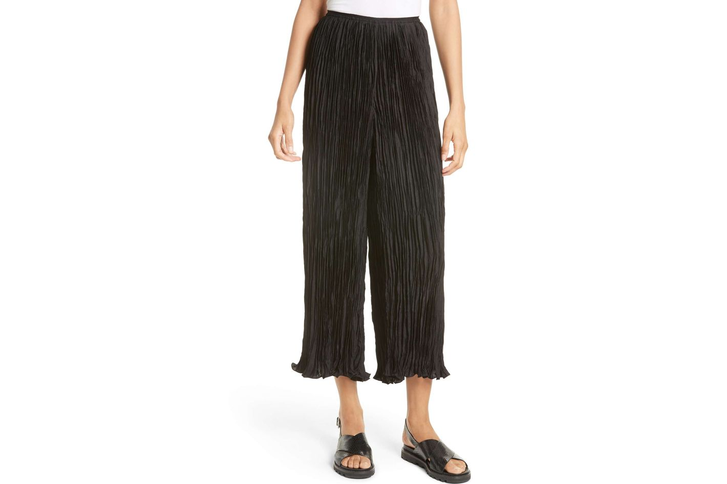 Elizabeth and James Crescent Pleated Pants