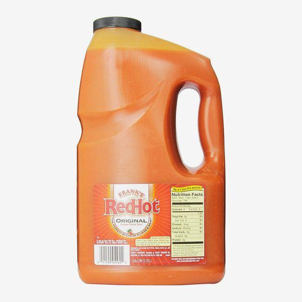 Frank's RedHot Original Cayenne Pepper Sauce, 1 gallon