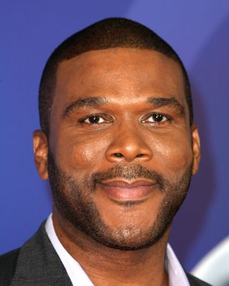 Producer Tyler Perry attends the Premiere Of Tri-Star Pictures'