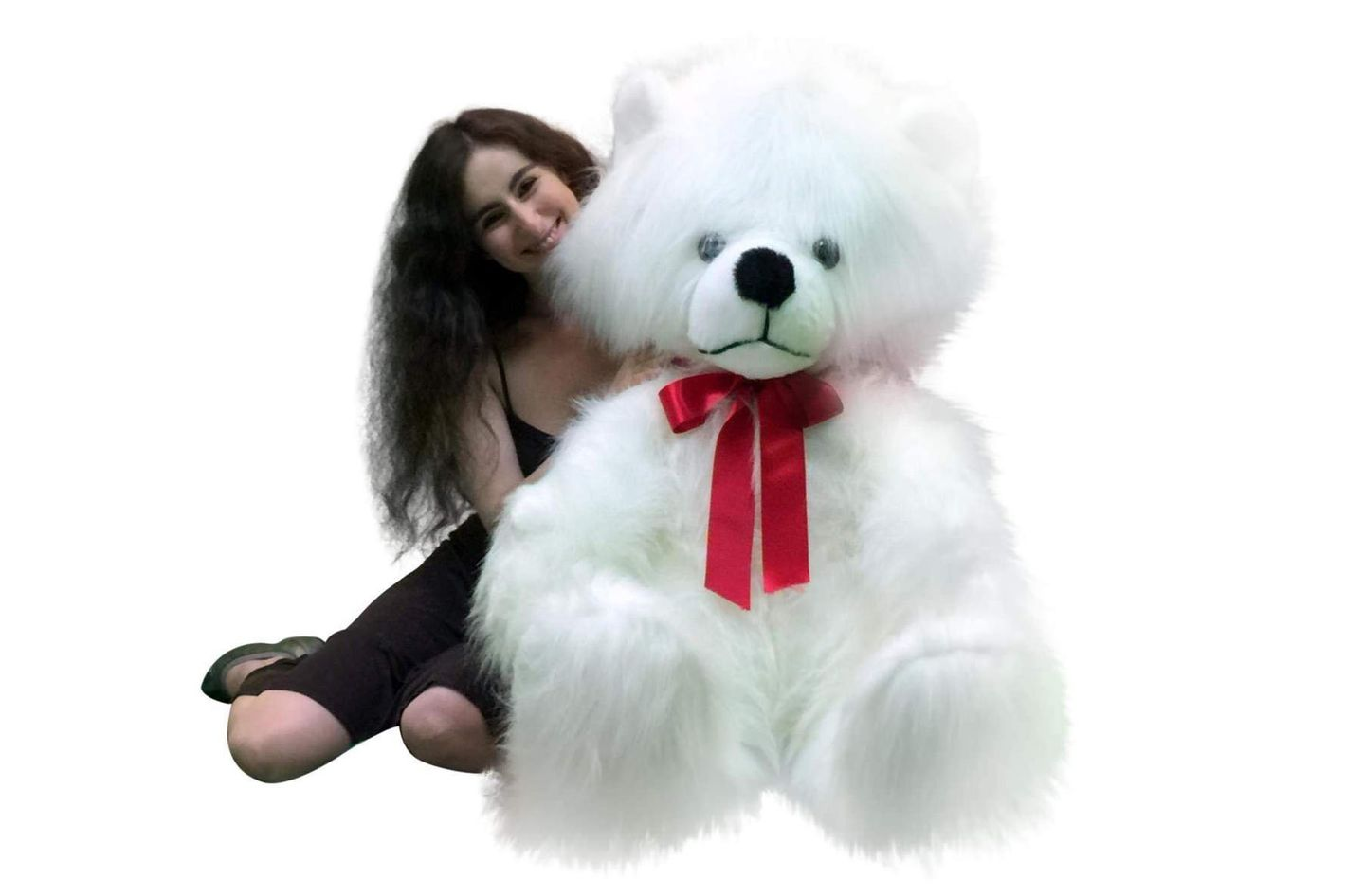 "Giant White 60"" Teddy Bear"