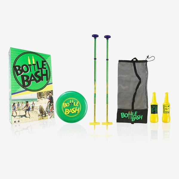 Poleish Games Bottle Bash Standard Outdoor Game Set