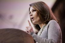 NATIONAL HARBOR, MD - MARCH 08: U.S. Rep. Michele Bachmann (R-MN) speaks during the 41st annual Conservative Political Action Conference at the Gaylord International Hotel and Conference Center on March 8, 2014 in National Harbor, Maryland. The conference, a project of the American Conservative Union, brings together conservatives polticians, pundits and voters for three days of speeches and workshops. (Photo by T.J. Kirkpatrick/Getty Images)