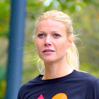 Gwyneth Paltrow sighting on location.