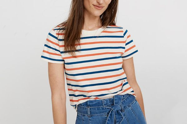 Madewell Northside Vintage Tee in Burnett Stripe