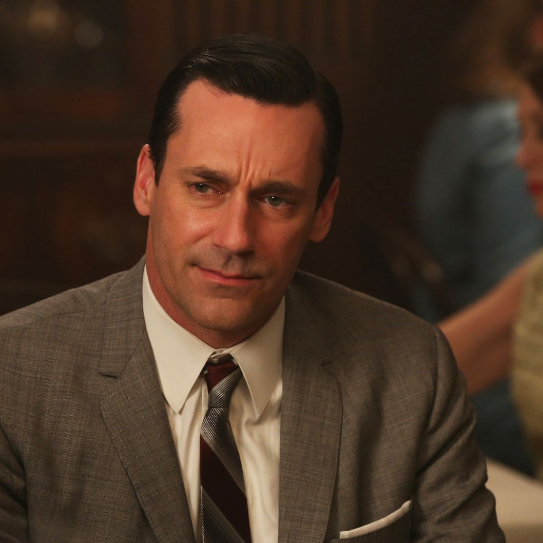 Don Draper (Jon Hamm) - Mad Men _ Season 6, Episode 11 _ 'Favors' - Photo Credit: Michael Yarish/AMC
