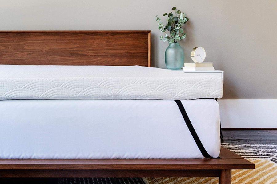 cushioning cooling mattress topper