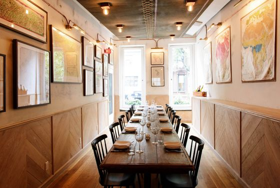 party time: 18 outstanding new private-dining spaces in new york 20 Person Dining Table