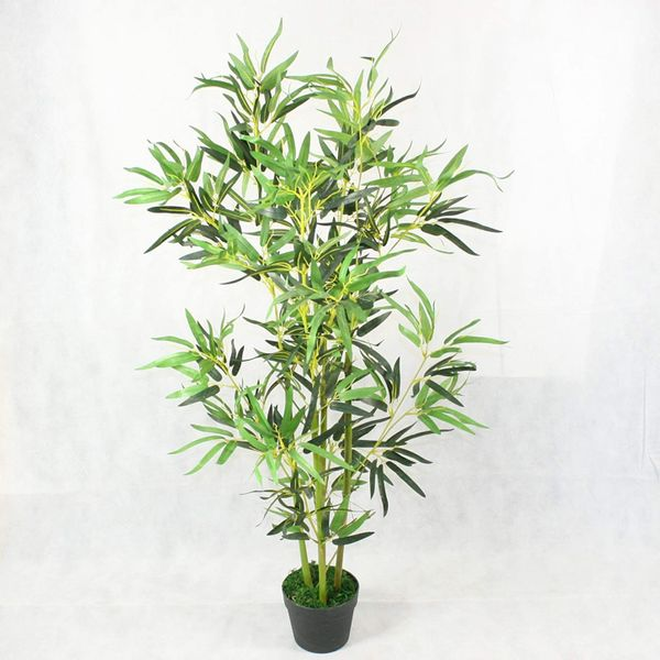 Large 4-foot Artificial Bamboo Plant