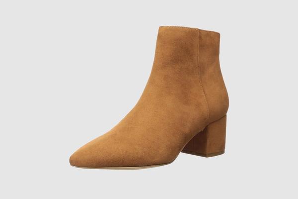 The Drop Women's Jenny Side Zip Block Heel Boot