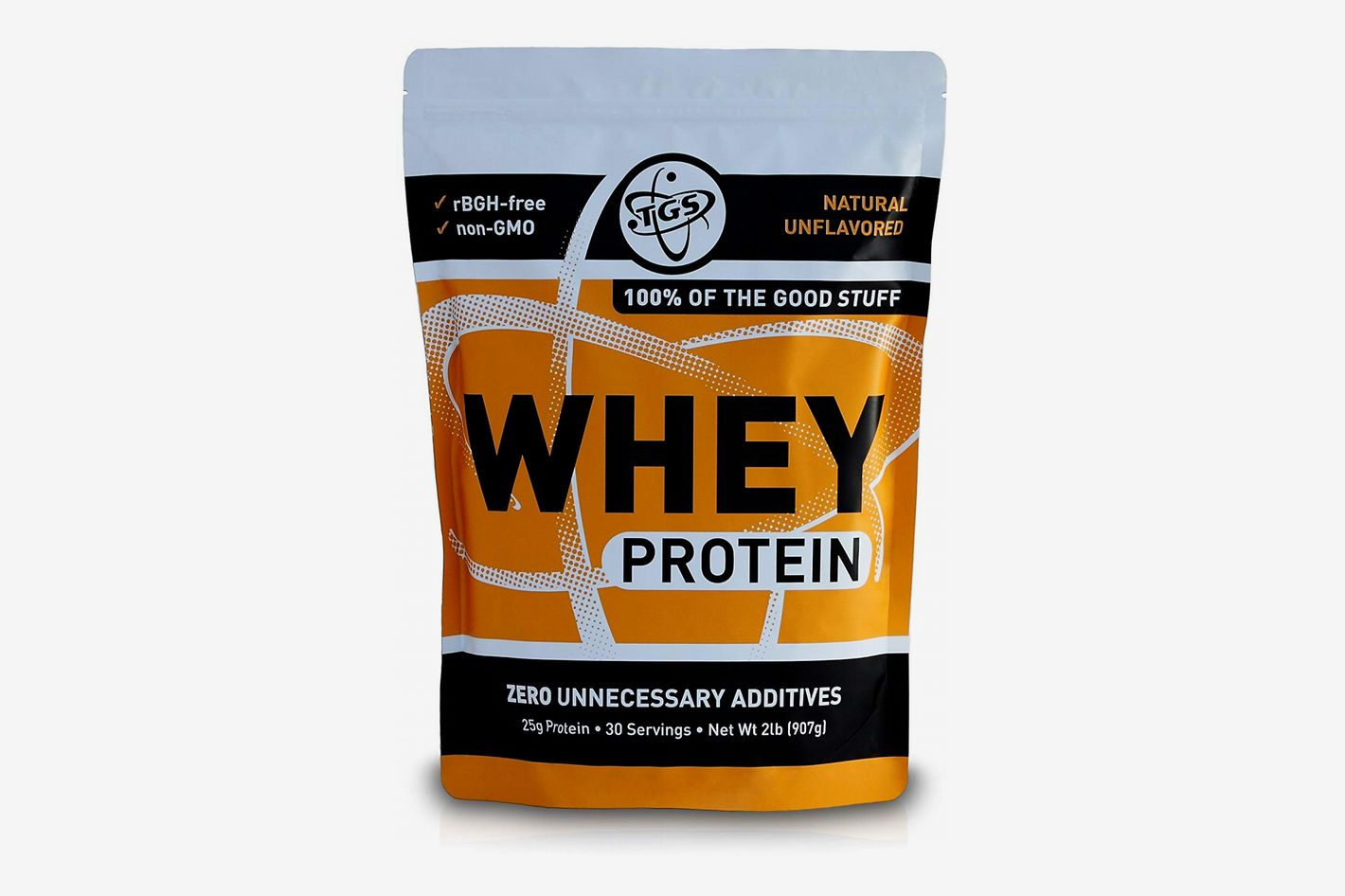 TGS All Natural 100% Whey Protein Powder
