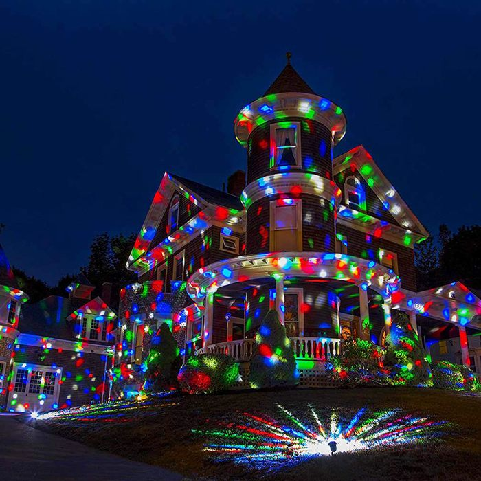 the best christmas light projectors on amazon according to hyperenthusiastic reviewers