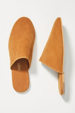 TKEES Suede Slides