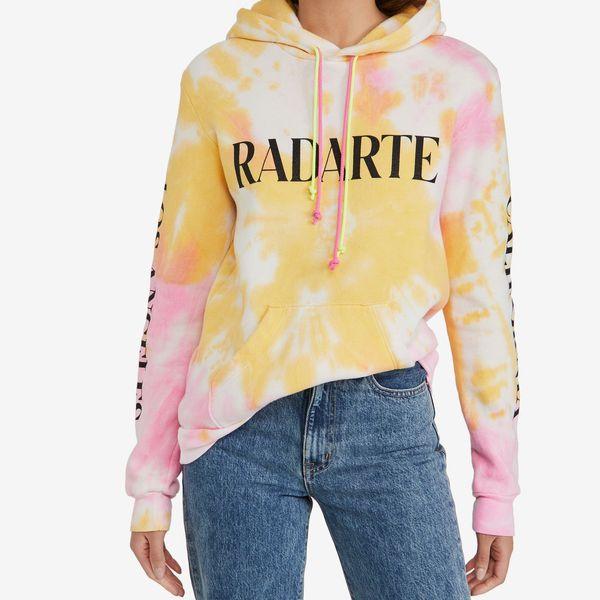 Rodarte Rad Radarte P/Y Tie Dye Hoodie