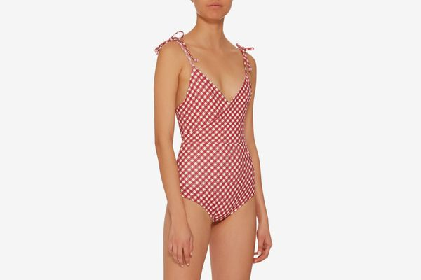 Camp Cove Frida Bow Tie One Piece Swimsuit