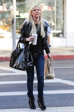 Tara Reid spotted out and about in Beverly Hills.