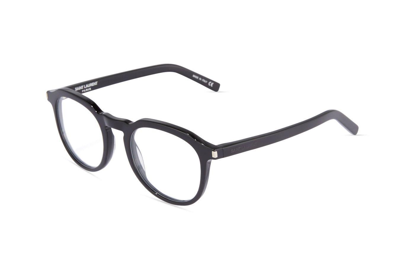 Saint Laurent 52mm Plastic Round Optical Glasses