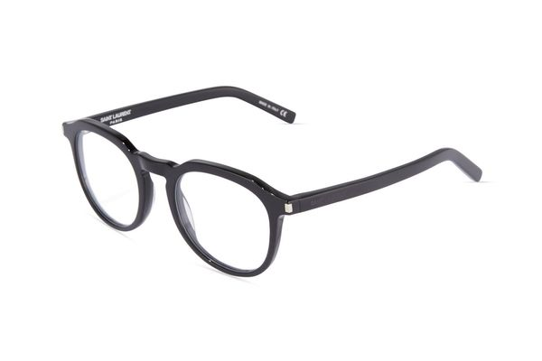 Saint Laurent 52mm Plastic Round Optical Glasses