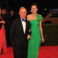 New York City Mayor Michael Bloomberg and Diana Taylor attend the