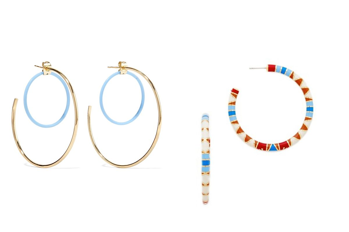 Elizabeth & James Renee Hoop Earrings