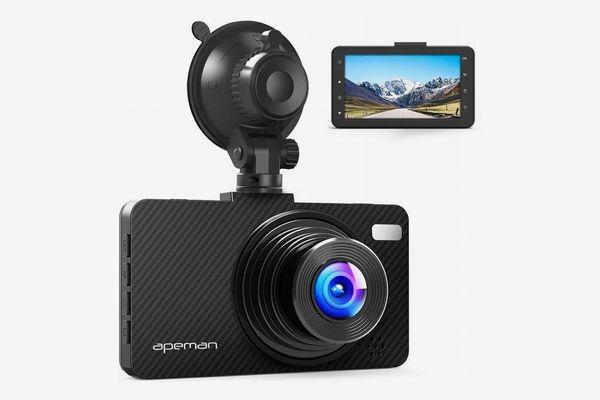 """APEMAN C450 Dash Cam, 3"""" Screen, Full HD 1080p"""