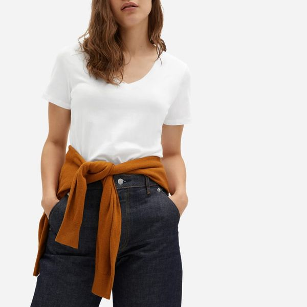 Everlane Organic Cotton V-Neck