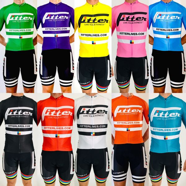 Fitter High Performance Unisex Cycling Jerseys