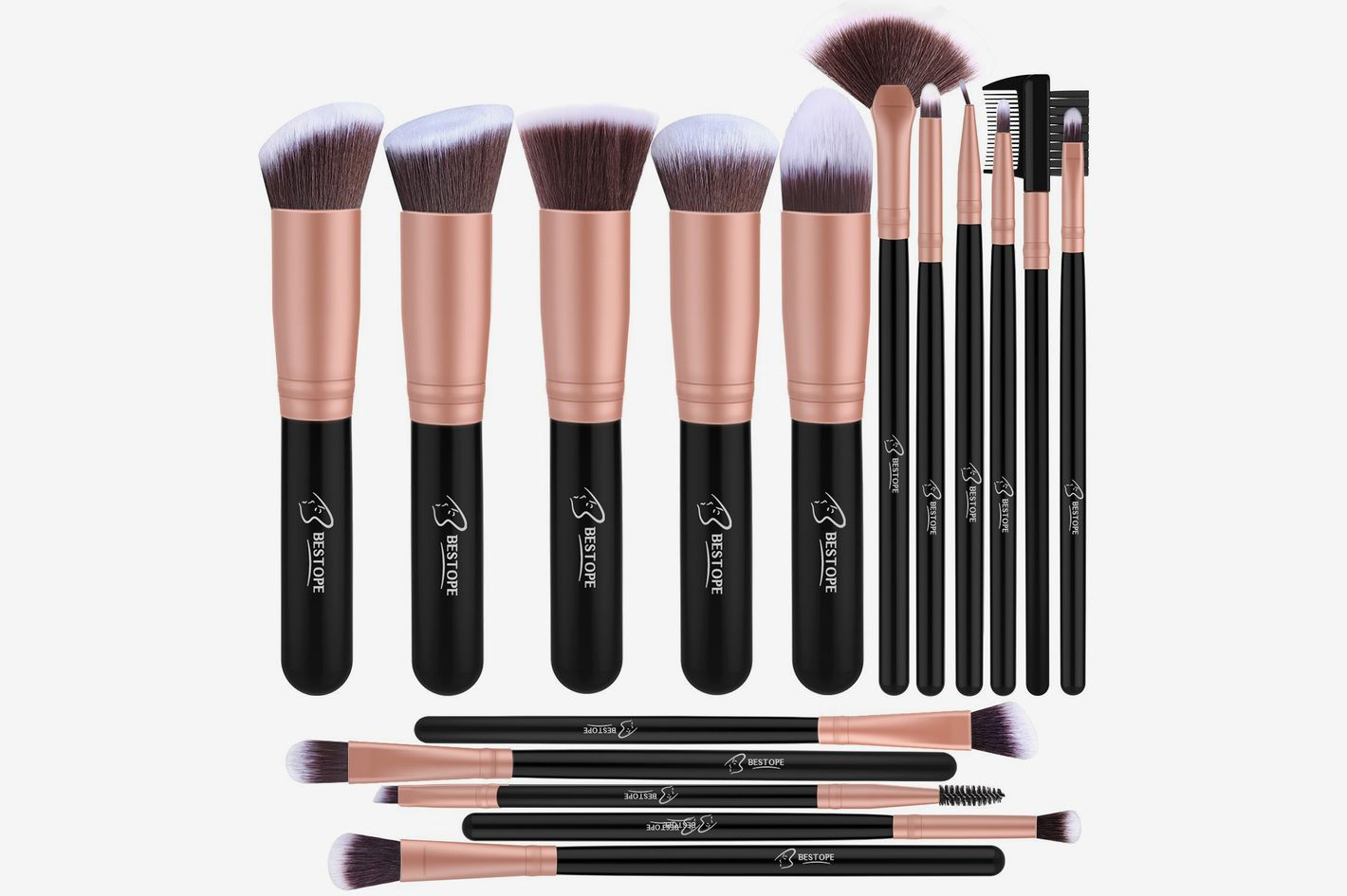 BESTOPE Makeup Brushes 16-Piece Makeup Brush Set