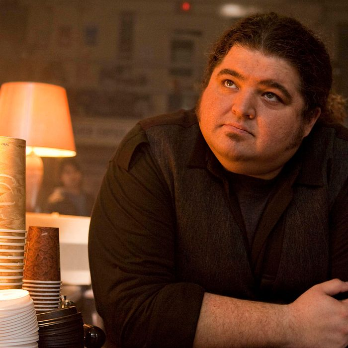 """ALCATRAZ: Doc (Jorge Garcia) offers some advise in the two-hour premiere """"Pilot/Ernest Cobb"""" episode of ALCATRAZ debuting Monday, Jan. 16 (8:00-10:00 PM ET/PT) and making its time period premiere on Monday, Jan. 23 on FOX."""