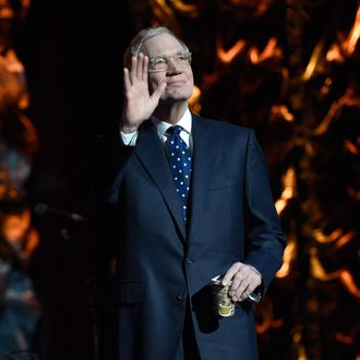 David Letterman attends