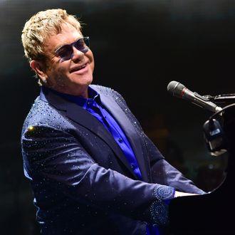 Elton John In Concert - Allentown, Pennsylvania