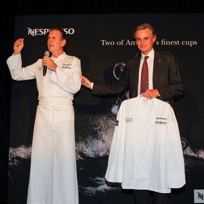 Thomas Keller and Nespresso CEO Jean-Marc Duvoisin go way back.