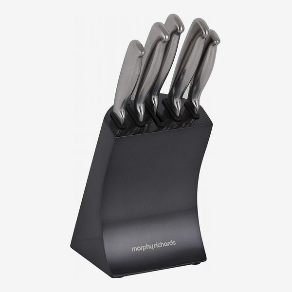 Morphy Richards Accents Knife Block, 5-Piece