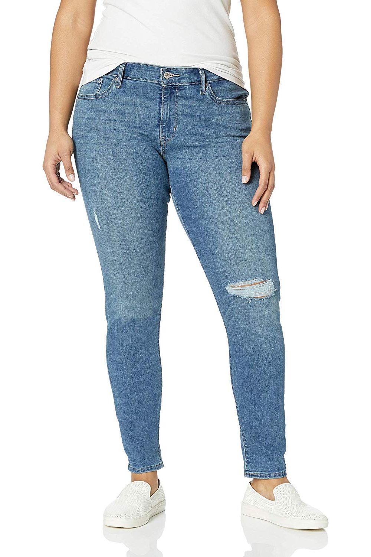 afe9d95ef5b45 Levi's Women's Plus-Size 711 Skinny Jean at Amazon