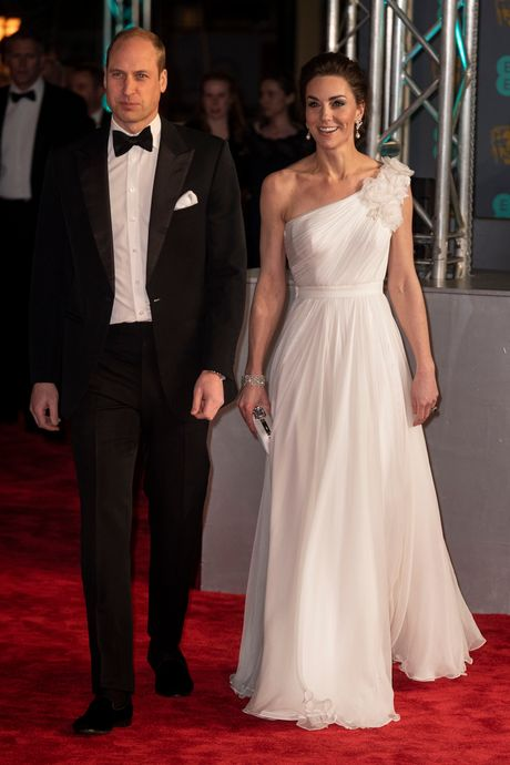 Prince William and Kate Middleton at the BAFTAs.