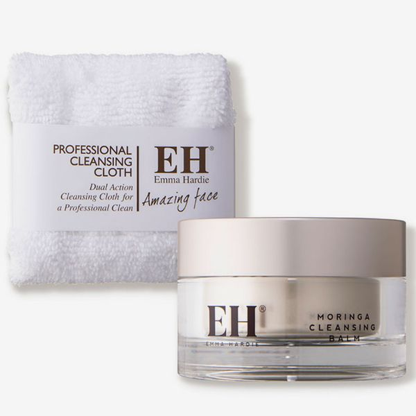 Emma Hardie Moringa Cleansing Balm with Dual-Action Cleansing Cloth