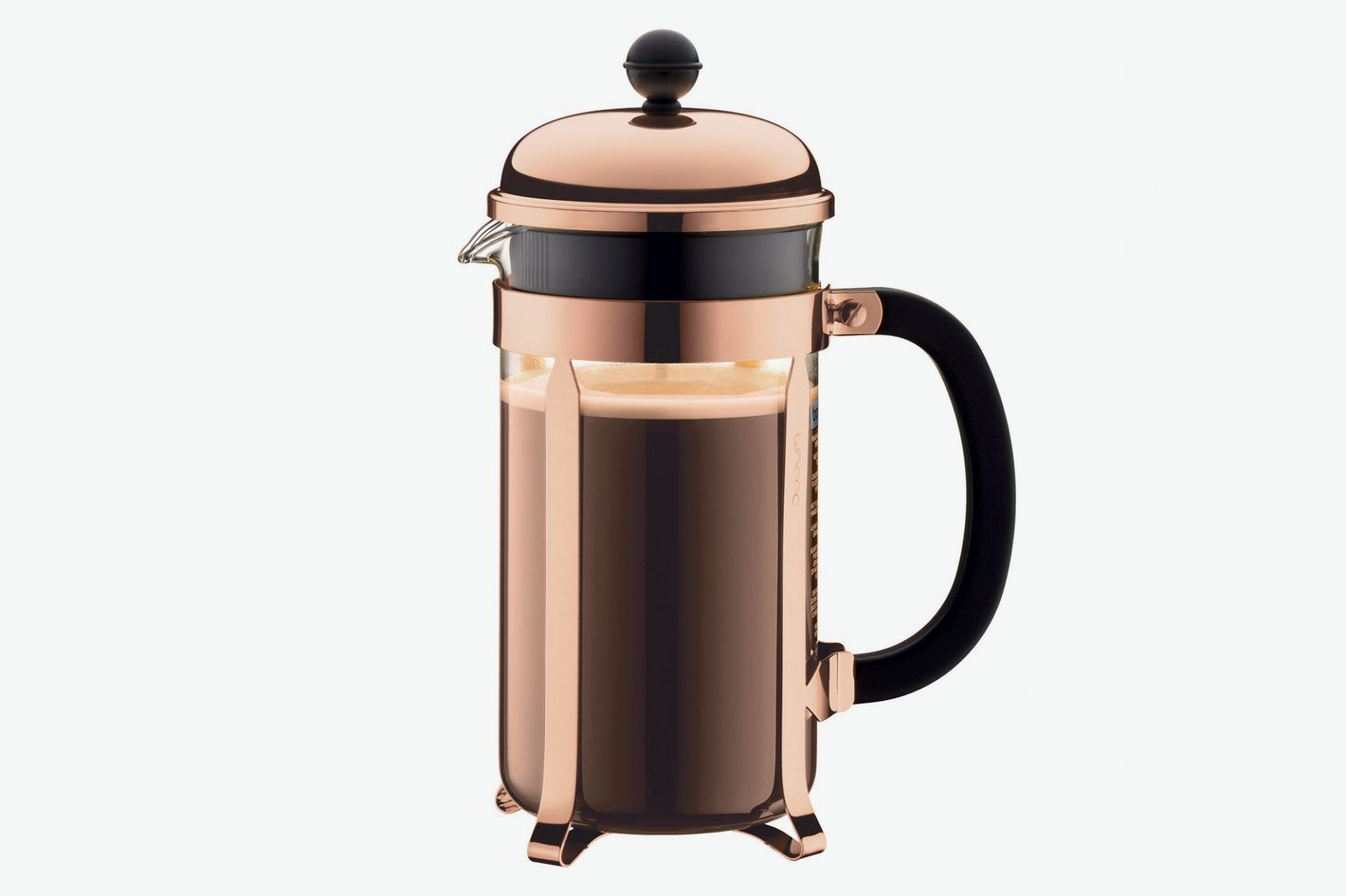 Bodum Chambord Black Top French Press, 8-cup