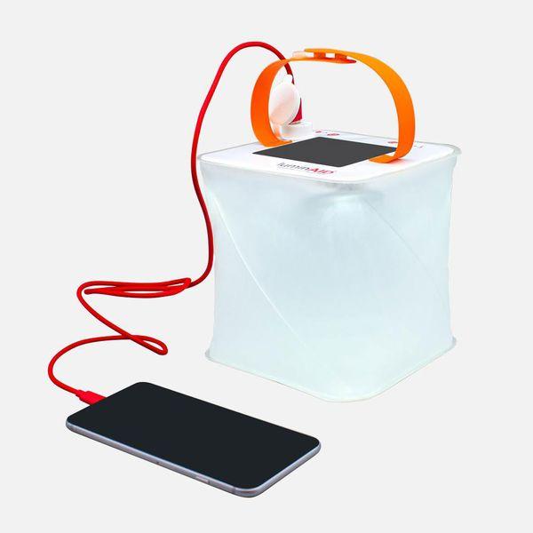 LuminAID PackLite Max Phone Charger Lantern