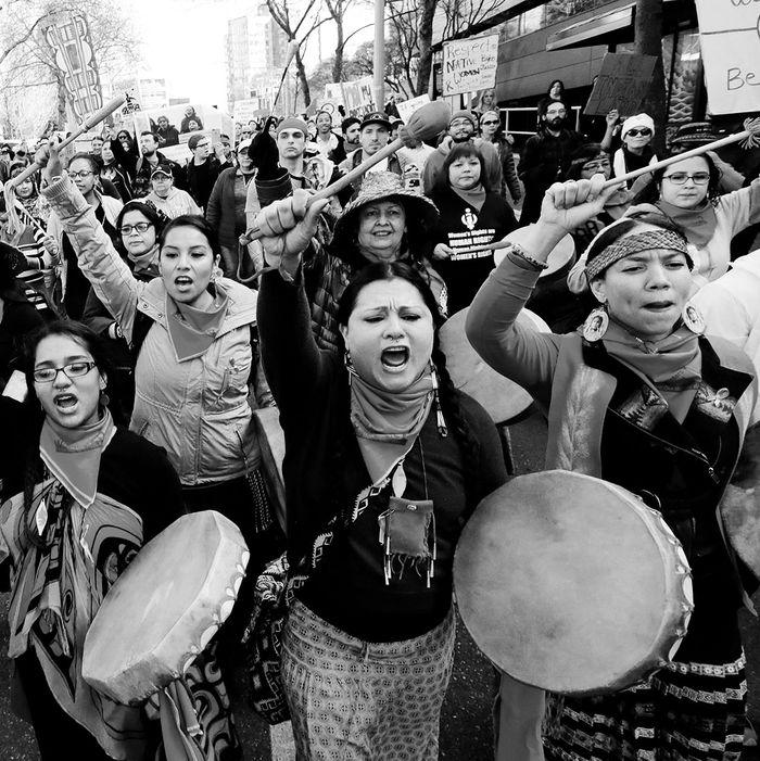 Native women.