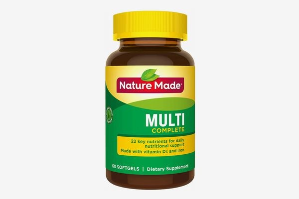Nature Made Multivitamin Complete Softgels with Vitamin D3 and Iron