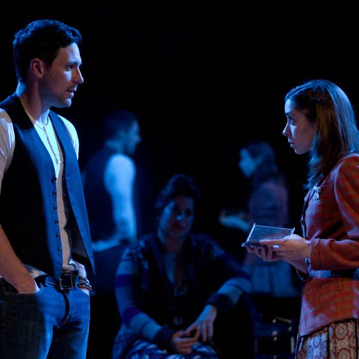 Steve Kazee and Cristin Milioti in