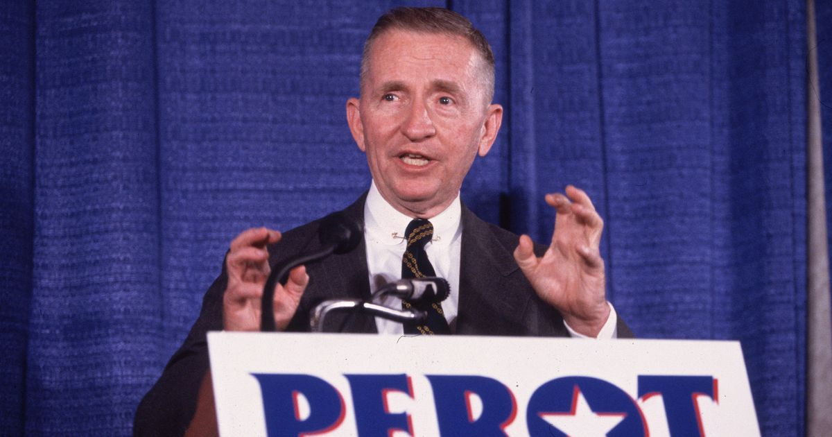 Ross Perot Will Remain a Legend Among Foes of Partisanship