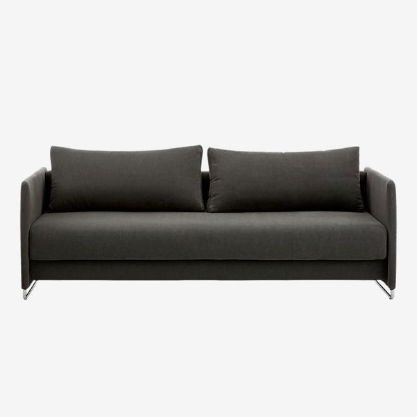 CB2 Tandom Dark Grey Sleeper Sofa