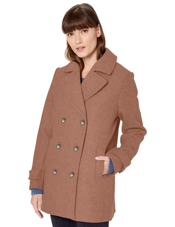 Amazon Essentials Women's Plush Peacoat